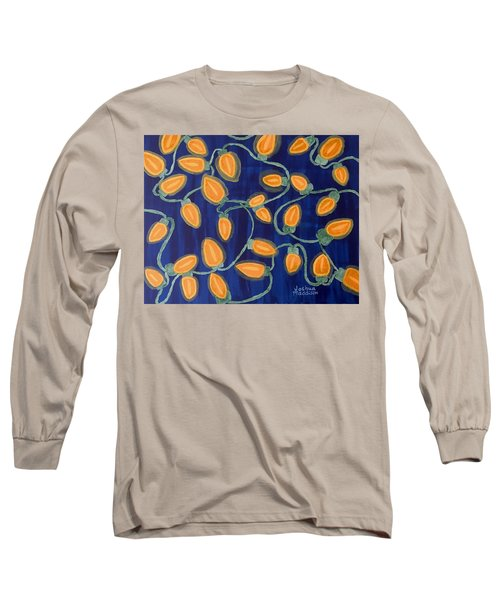 Blue Holiday Long Sleeve T-Shirt by Joshua Maddison