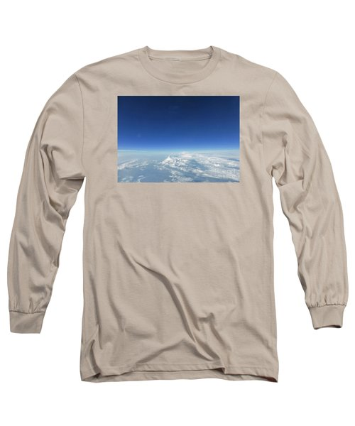 Blue In The Sky Long Sleeve T-Shirt by AmaS Art