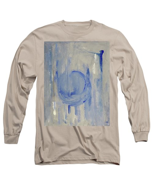 Blue Moon Long Sleeve T-Shirt by Victoria Lakes