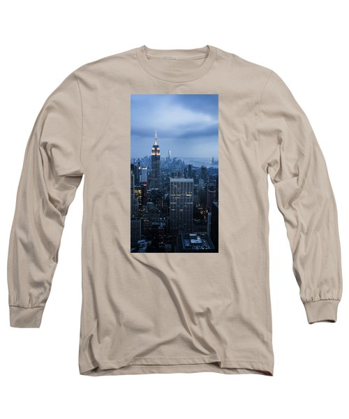 Blue New York Long Sleeve T-Shirt