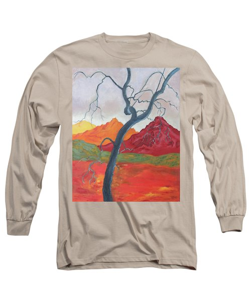 Blue Retama Long Sleeve T-Shirt