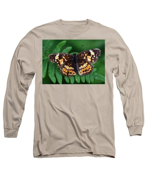 Long Sleeve T-Shirt featuring the photograph Blue Ridge Butterfly by Kay Lovingood