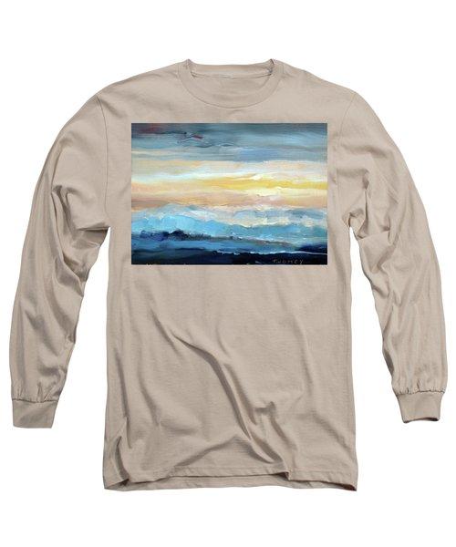 Blue Ridge Mountain Sunset 1.0 Long Sleeve T-Shirt