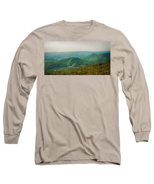 Blue Ridge Mountains Long Sleeve T-Shirt