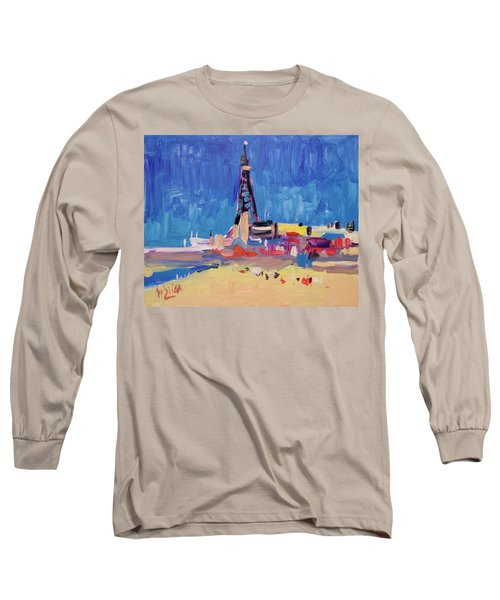 Blue Sky Blackpool Long Sleeve T-Shirt by Nop Briex