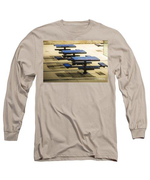 Blue Tables-6747a Long Sleeve T-Shirt