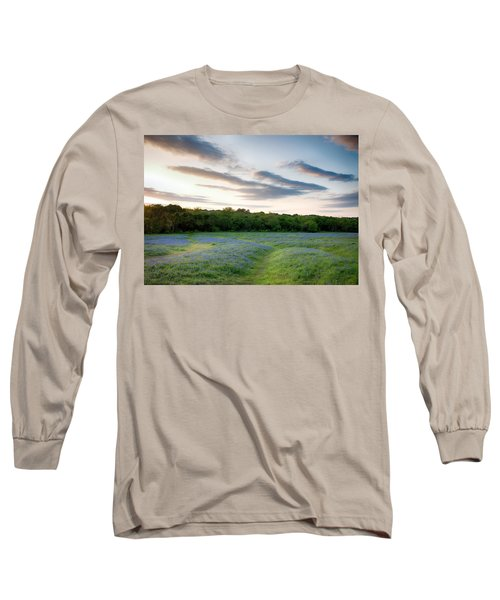Bluebonnet Trail Ennis Texas 2015 V5 Long Sleeve T-Shirt