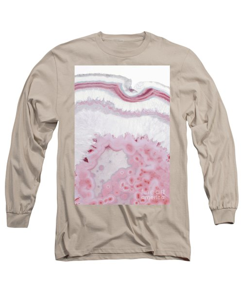 Blush Agate Long Sleeve T-Shirt