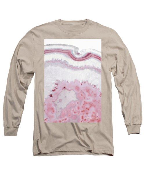 Blush Agate Long Sleeve T-Shirt