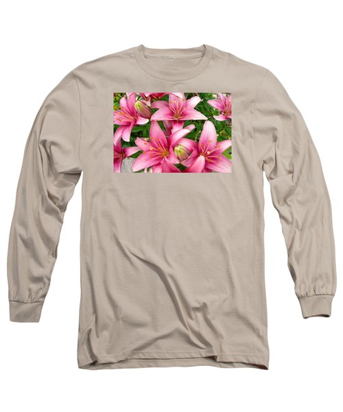 Blush Of The Blossoms Long Sleeve T-Shirt by Randy Rosenberger