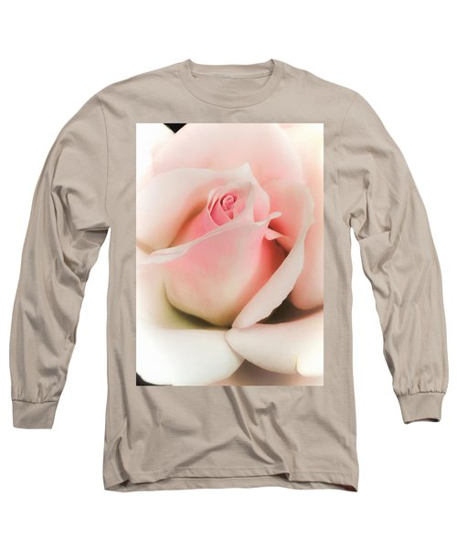 Blushing Petals Long Sleeve T-Shirt