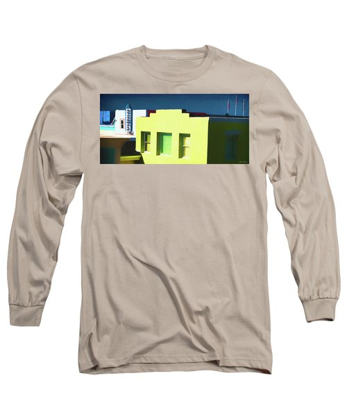 Boardwalk Carolina Beach Long Sleeve T-Shirt by Glenn Gemmell