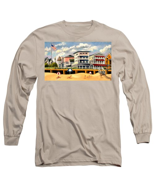 Boardwalk On The Jersey Shore Long Sleeve T-Shirt