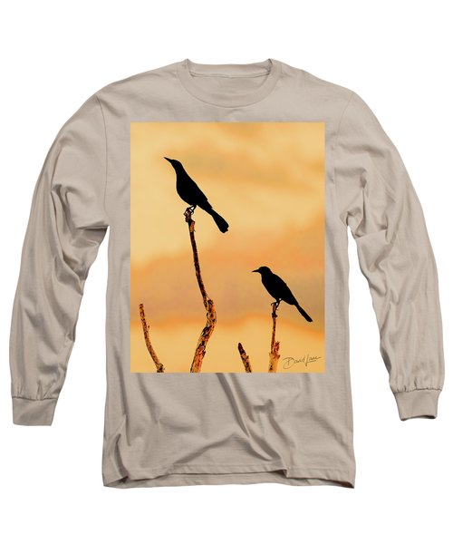 Boat Tailed Grackles Long Sleeve T-Shirt