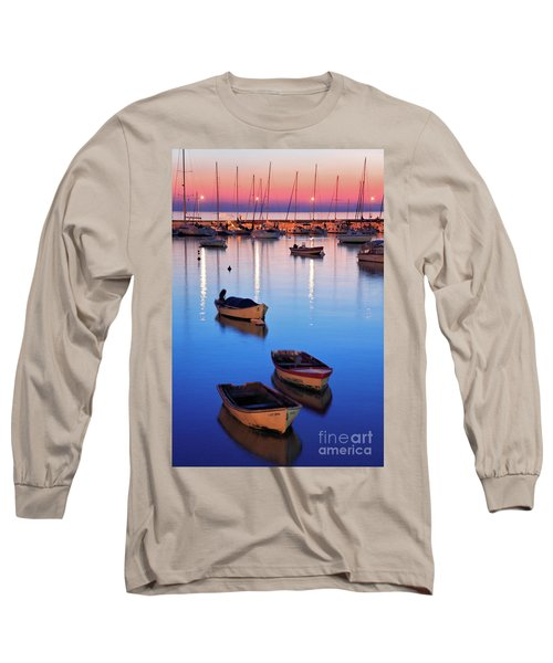 Long Sleeve T-Shirt featuring the photograph Boats by Bernardo Galmarini