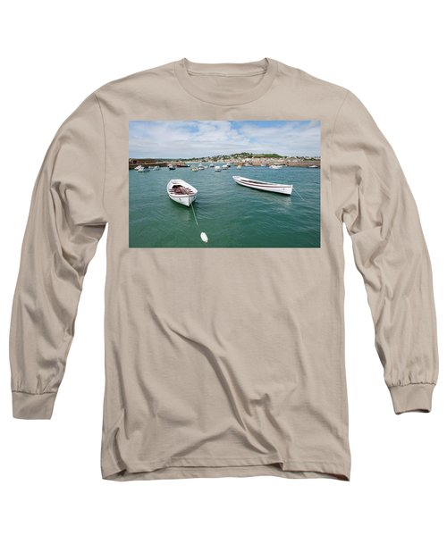 Boats In Habour Long Sleeve T-Shirt