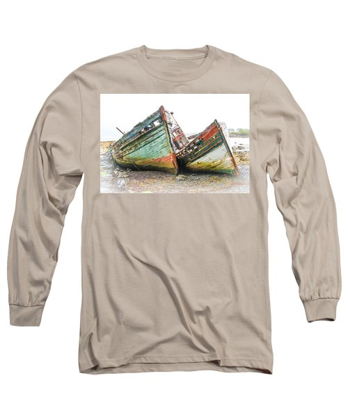 Boats Isle Of Mull 4 Long Sleeve T-Shirt