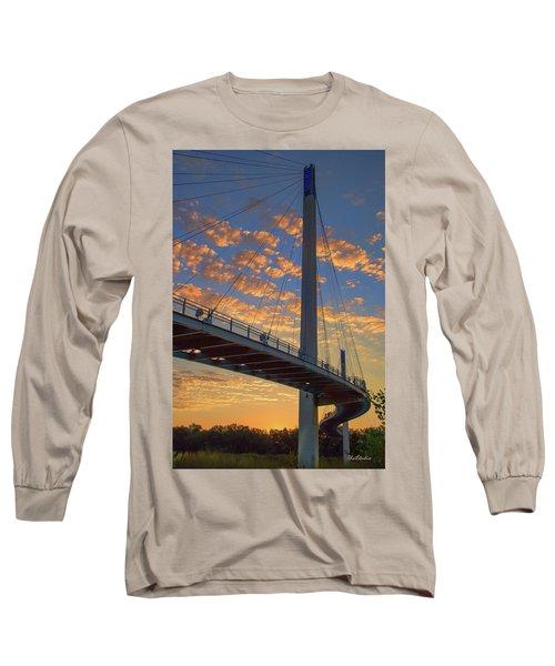 Bob Kerry Bridge At Sunrise Long Sleeve T-Shirt