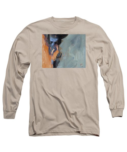 Long Sleeve T-Shirt featuring the painting Bob S Ear by Nop Briex