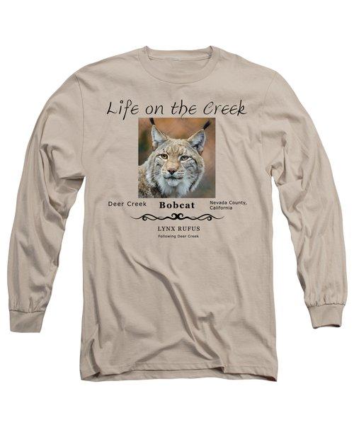 Bobcat - Lynx Rufus Long Sleeve T-Shirt