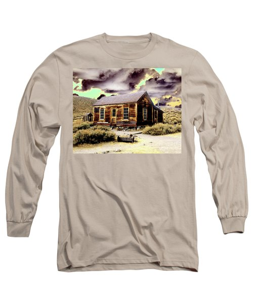 Long Sleeve T-Shirt featuring the photograph Bodie House by Jim and Emily Bush