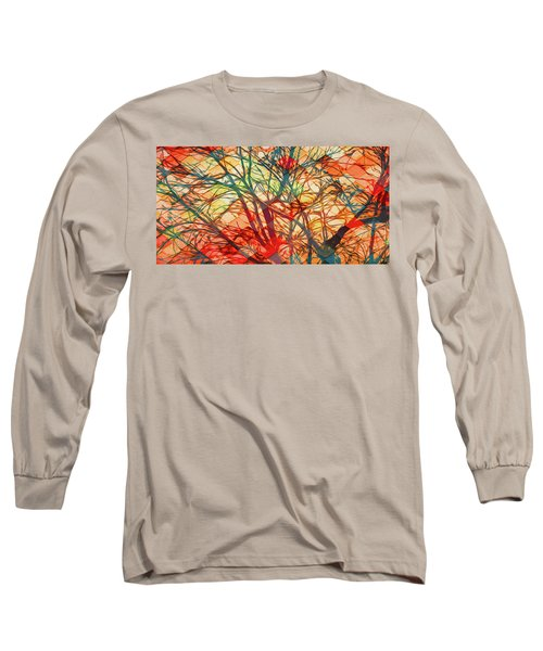 Bold And Colorful Long Sleeve T-Shirt