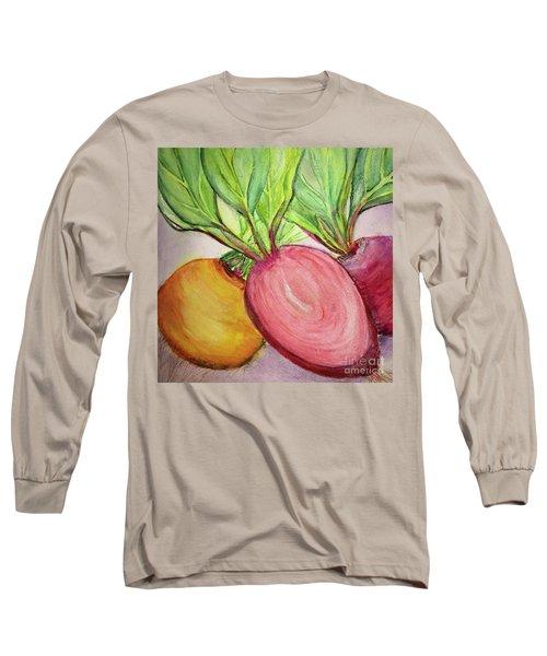 Bold Beets Long Sleeve T-Shirt