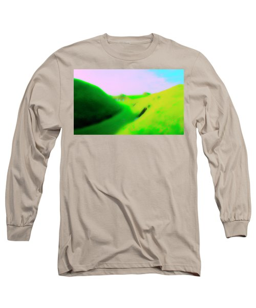 Bombproofs At Dover Long Sleeve T-Shirt by Jan W Faul