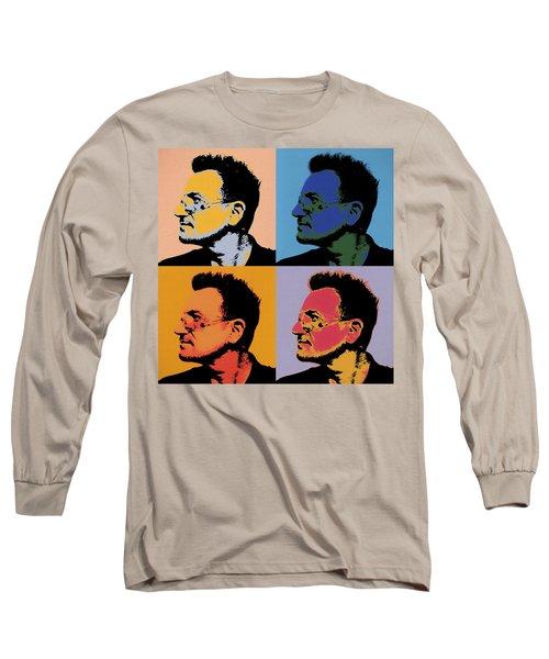 Bono Pop Panels Long Sleeve T-Shirt