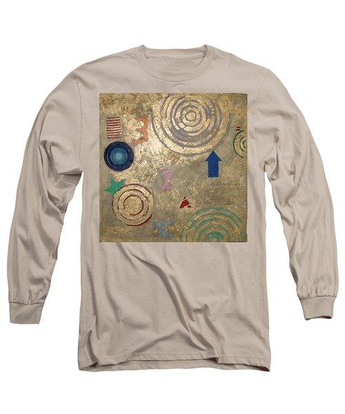 Long Sleeve T-Shirt featuring the painting Boogie 3 by Bernard Goodman