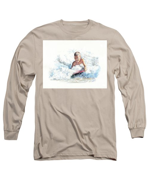 Boogie Boarding Long Sleeve T-Shirt
