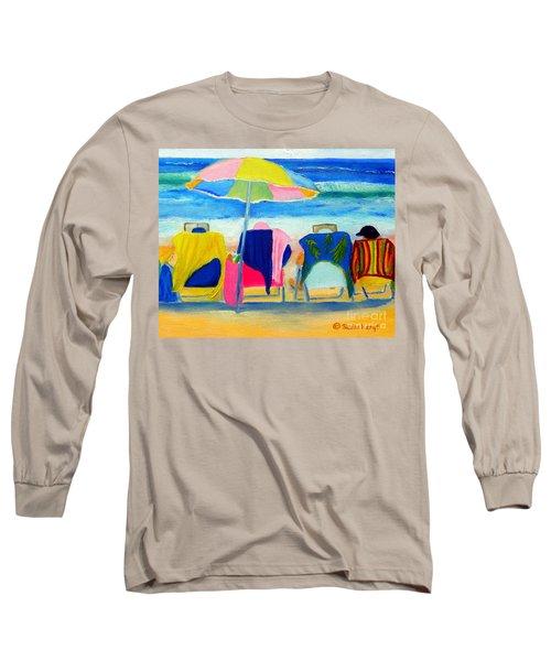 Book Club Of Four Long Sleeve T-Shirt