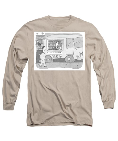 Books About Ice Cream Long Sleeve T-Shirt