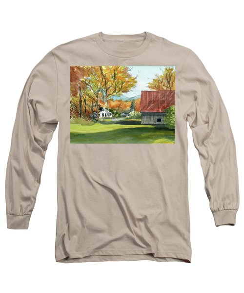 Boone Bungalow And Barn Long Sleeve T-Shirt