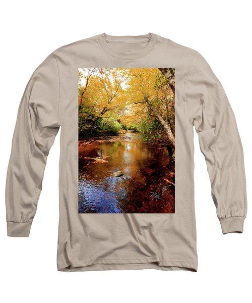 Long Sleeve T-Shirt featuring the photograph Boone Fork Stream by Meta Gatschenberger