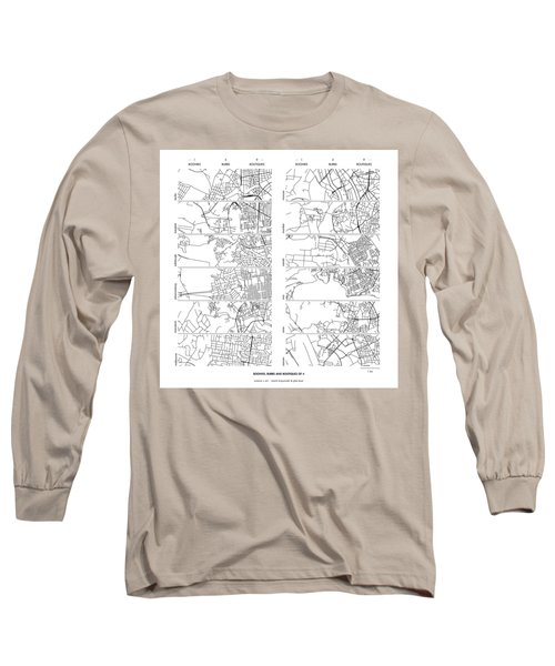 Boonies, Burbs And Boutiques Of Pi Long Sleeve T-Shirt