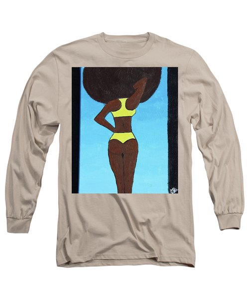 Bootylicious Long Sleeve T-Shirt by Cyrionna The Cyerial Artist