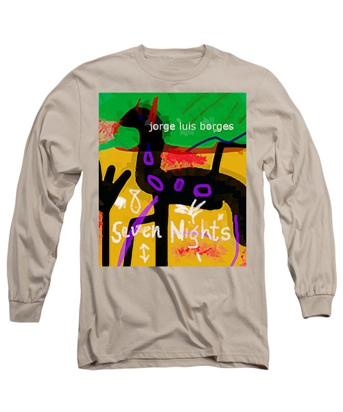 Borges Seven Nights Poster  Long Sleeve T-Shirt