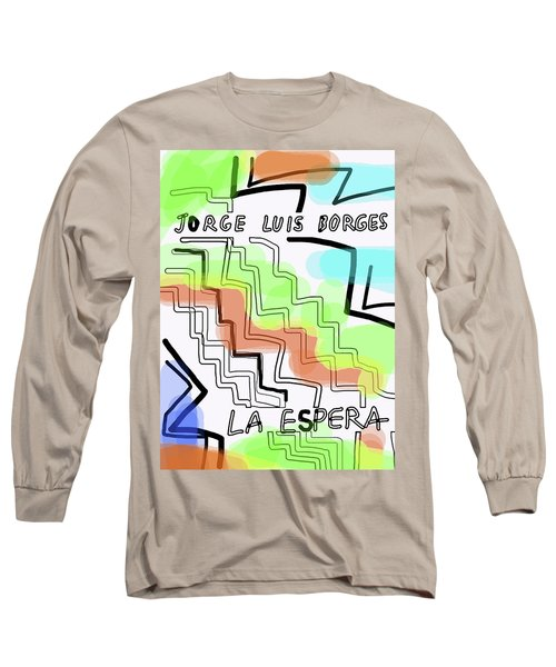 Borges The Wait Short Story  Long Sleeve T-Shirt