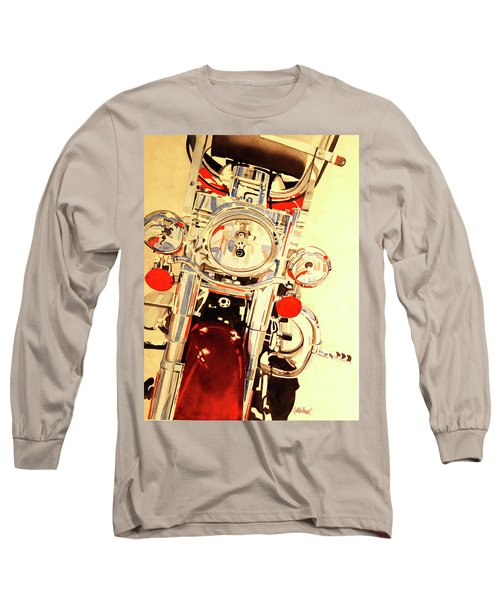Born To Be Wild Long Sleeve T-Shirt by Cynthia Powell