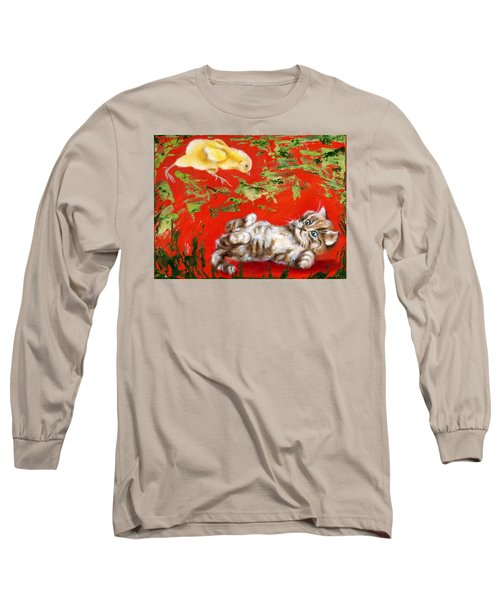 Long Sleeve T-Shirt featuring the painting Born To Be Wild by Hiroko Sakai