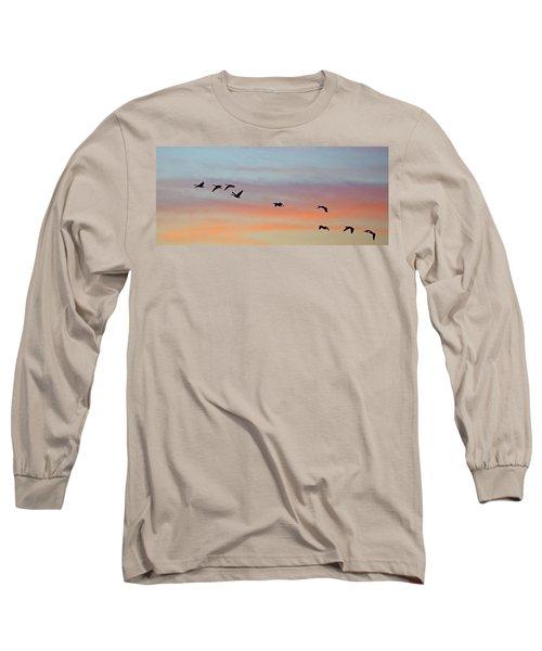 Bosque Sunrise Long Sleeve T-Shirt