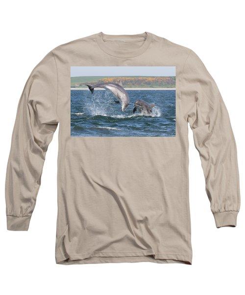 Bottlenose Dolphin - Moray Firth Scotland #49 Long Sleeve T-Shirt