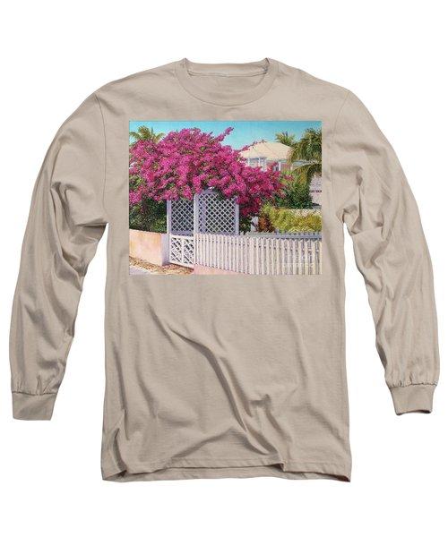 Bougainvillea Crown Long Sleeve T-Shirt