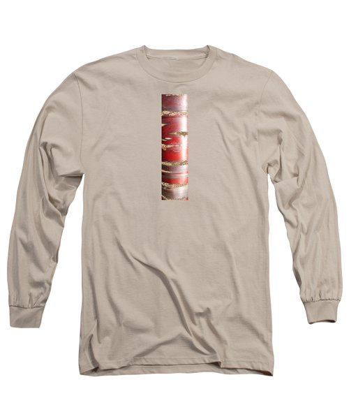 Bouleau Rouge Long Sleeve T-Shirt by Marc Philippe Joly