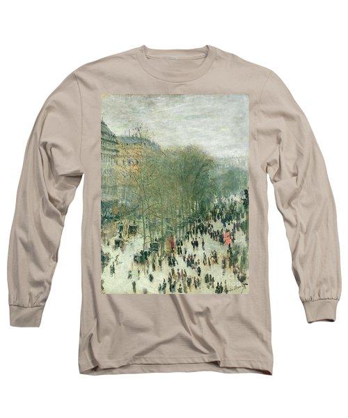 Boulevard Des Capucines Long Sleeve T-Shirt
