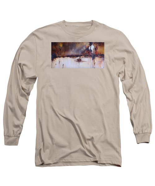 Boundary Waters Long Sleeve T-Shirt by Theresa Marie Johnson