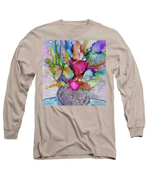 Bouquet In Pastel Long Sleeve T-Shirt