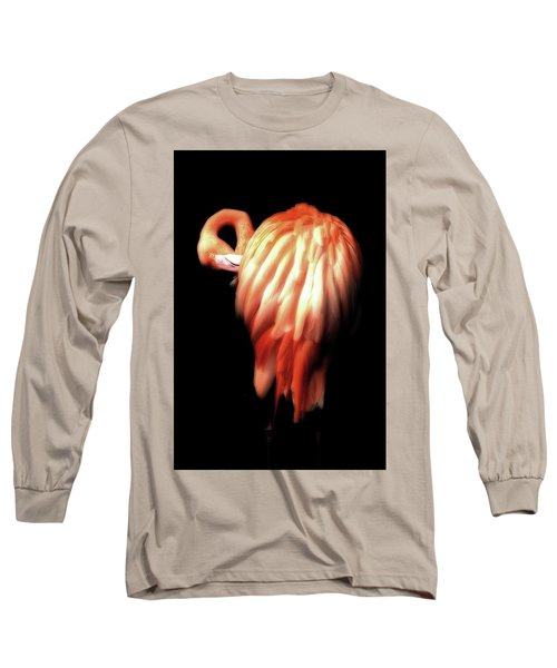 Bowie Flamingo Long Sleeve T-Shirt