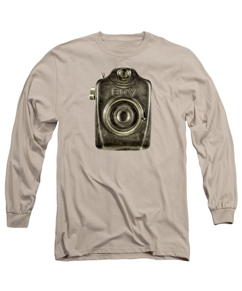 Boy Camera Front Long Sleeve T-Shirt